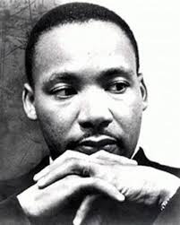 Humanitarian and visionary, Dr. Martin Luther King, Jr.